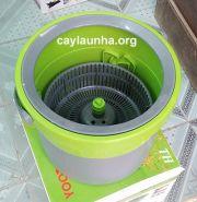 Cây lau nhà 360 độ Yoota thùng nhỏ tiết kiệm giá cả phải chăng