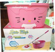 Cây lau nhà Spin Mop Kitty